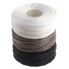 B-lon Cord Tex 210 18m(20 Yd) Black/white/grey 3Pcs